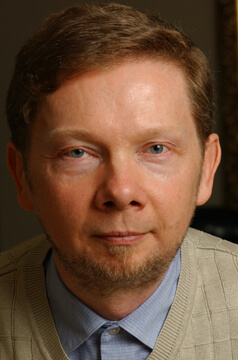 Eckhart Tolle live speaking about mindfulness and presence