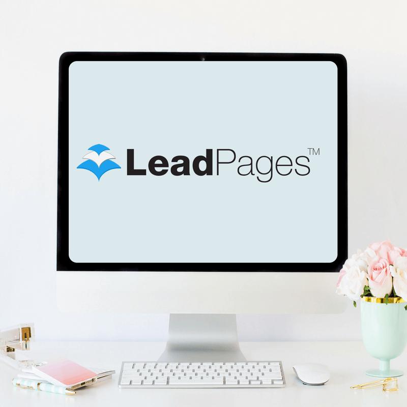 LeadPages for women wellness entrepreneurs